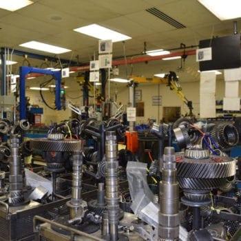 inspection transmission rebuild area