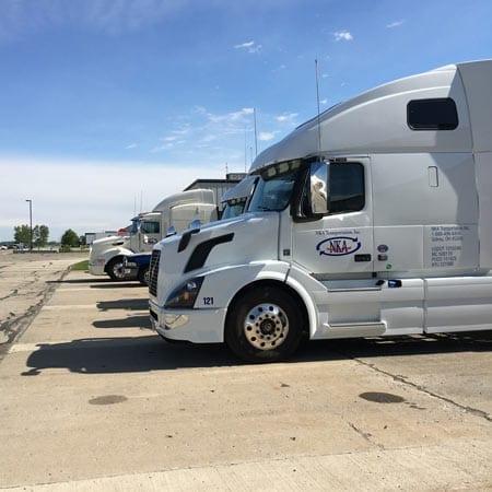 truck receiving warehousing shipping